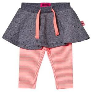 Me Too Girls Skirts Orange Kin 259 Skirt With Leggings Bright Coral