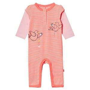 Me Too Unisex All in ones Orange Kin 261 Baby One-Piece Bright Coral