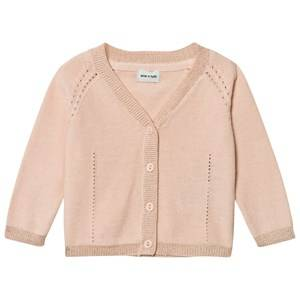 Mini A Ture Girls Jumpers and knitwear Pink Betsey Cardigan Pale Dogwood Rose