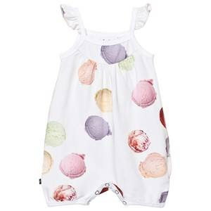Molo Girls All in ones Multi Faline Romper Ice Scoops