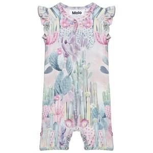 Molo Girls All in ones Multi Faris Romper Delicate Cacti