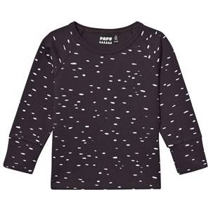 Papu Unisex Tops Grey Dot Long Sleeve Shirt Grey