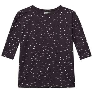 Papu Girls Dresses Grey Dot Dress Grey