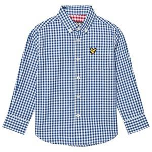 Scott Lyle & Scott Boys Tops Blue True Blue Gingham Shirt