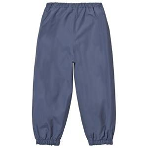 Wheat Boys Bottoms Blue Robin Rain Pants Blue
