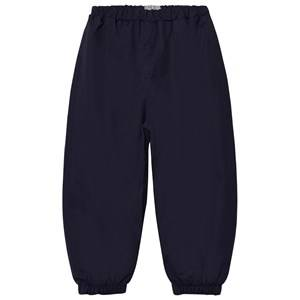 Wheat Boys Bottoms Navy Robin Rain Pants Navy