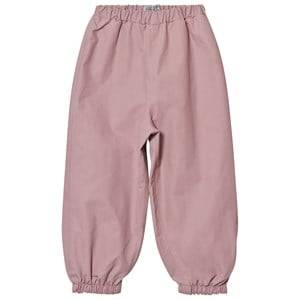 Wheat Girls Bottoms Pink Robin Rain Pants Powder Rose