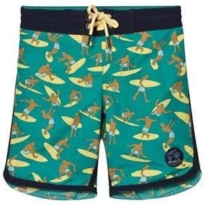 Oneill Boys Swimwear and coverups Green Green Surf Patch Boardshorts