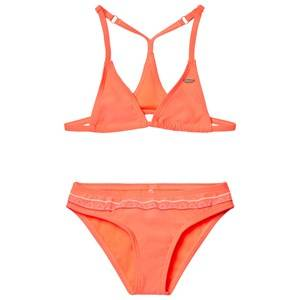 Oneill Girls Swimwear and coverups Orange Fluoroescent Peach Triangle Bead Bikini