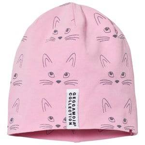 Geggamoja Unisex Headwear Pink Limited Edition Kitty Hat
