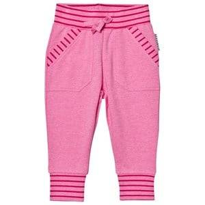Geggamoja Girls Jumpers and knitwear Pink College Pant Pink Melange