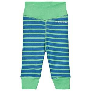 Geggamoja Unisex Bottoms Blue Premature Pant Marine And Green