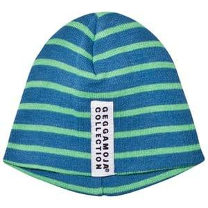 Geggamoja Unisex Headwear Blue Premature Cap  Marine And Green