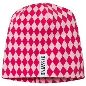 Geggamoja Girls Headwear Pink Limited Edition Romb Hat