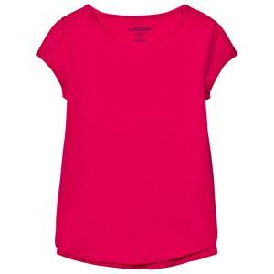 Lands End Girls Tops Pink Pink A-Line Core Knit Tee