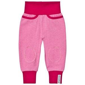 Geggamoja Girls Bottoms Pink Pants Pink Melange