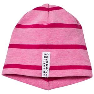 Geggamoja Girls Headwear Pink Hat Pink Melange And Dark Pink