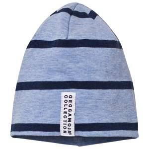 Geggamoja Unisex Headwear Blue Hat Blue Melange And Marine