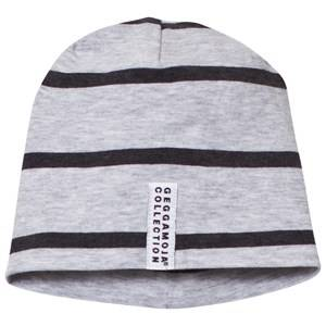 Geggamoja Unisex Headwear Grey Cap Grey Melange And Dark Grey
