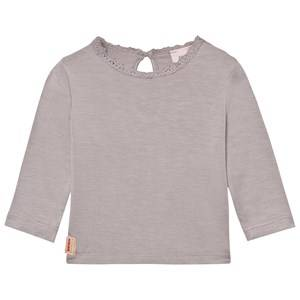 Noa Noa Miniature Girls Tops Purple Baby Basic Top Olba Gull Gray