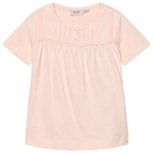 Noa Noa Miniature Girls Tops Pink Mini Basic Top Organic Jersey Peach Blush