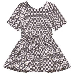 Kiss How To Kiss A Frog Girls Dresses Grey Siona Dress Grey Wheel
