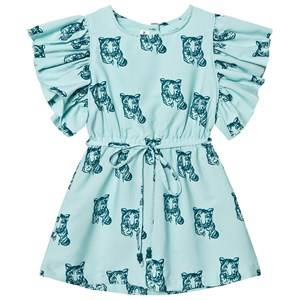 Kiss How To Kiss A Frog Girls Dresses Blue Cilla Dress Sky Tiger