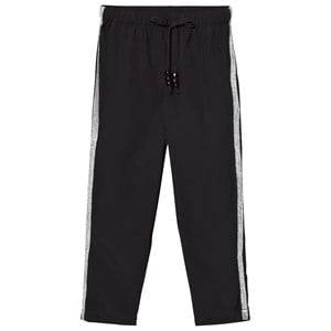 Kiss How To Kiss A Frog Unisex Bottoms Black Speed Pants Black/silver