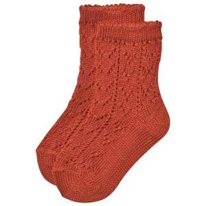 Bobo Choses Unisex Underwear Red Baby Short Jacquard Socks Red Clay