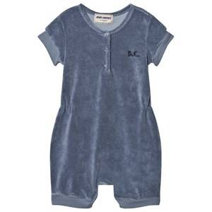 Bobo Choses Boys All in ones Blue Mr. Badminton Terry Romper Cloud Blue