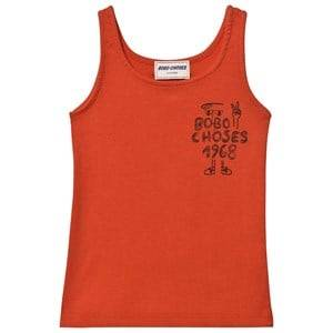 Bobo Choses Boys Tops Red 1968 Tank Top Red Clay