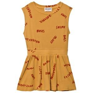 Bobo Choses Girls Dresses Yellow The Legends Tennis Dress Golden Nugget