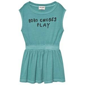 Bobo Choses Girls Dresses Blue B.C. Play Tennis Dress Turquoise Blue