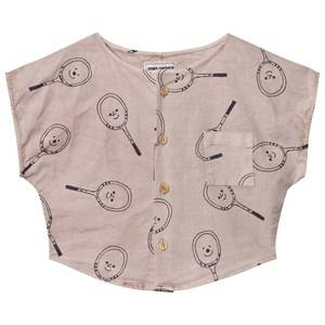 Bobo Choses Girls Tops Pink Tennis Blouse Off Rose