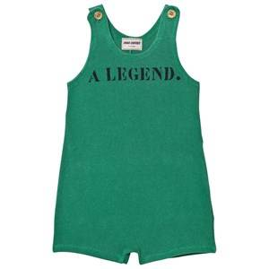 Bobo Choses Boys All in ones Green A Legend Gino Romper Mint