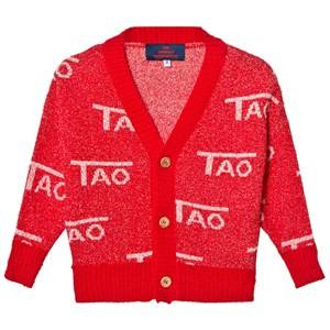 The Animals Observatory Unisex Jumpers and knitwear Red Mantis Cardigan Red