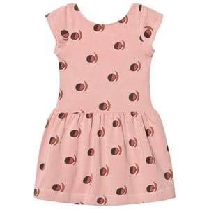 The Animals Observatory Girls Dresses Pink Sparrow Dress Pink Fruit