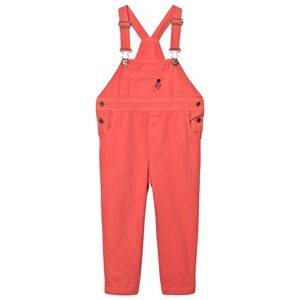 The Animals Observatory Unisex All in ones Red Miner Overalls Red/Black Logo