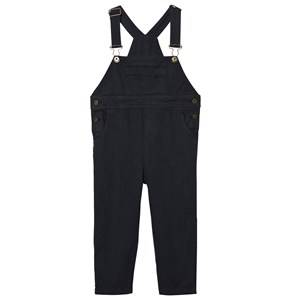 The Animals Observatory Unisex All in ones Black Miner Overalls Black/Black Logo