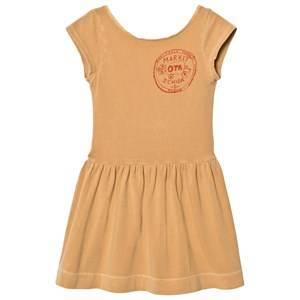 The Animals Observatory Girls Dresses Beige Sparrow Dress Ochre Market
