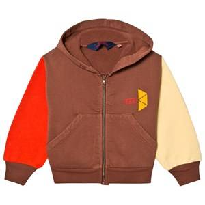 The Animals Observatory Unisex Jumpers and knitwear Brown Seahorse Hoodie Brown Tao Triangles