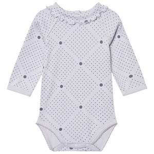 Kiss How To Kiss A Frog Unisex All in ones Grey Baby Body Grey Dotti