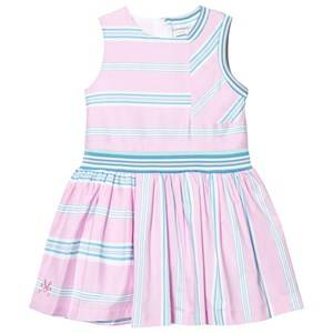 No Added Sugar Girls Dresses Pink In A Heartbeat Dress Quad Stripe
