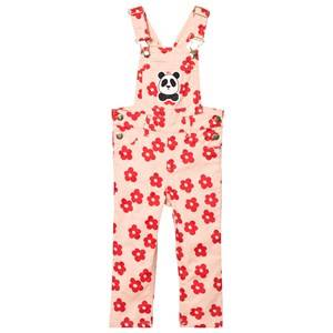 Mini Rodini Unisex All in ones Pink Blossom Overalls Pink