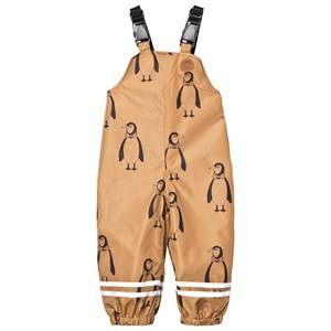 Mini Rodini Unisex Bottoms Brown Edelweiss High Trousers Brown