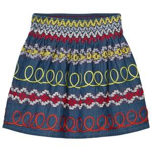 Stella McCartney Kids Girls Skirts Multi Multi Embroidered Skirt