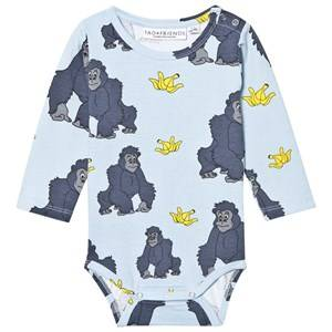 Tao&friends; Unisex All in ones Blue Gorillan Baby Body Blue