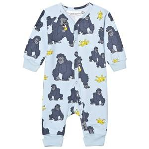 Tao&friends; Unisex Nightwear Blue Gorillan One-Piece Blue