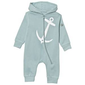 Emma och Malena Unisex All in ones Green Baby One-Piece Anchor Sage