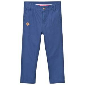eBBe Kids Boys Bottoms Blue Lawson Chinos Dark Ocean Blue